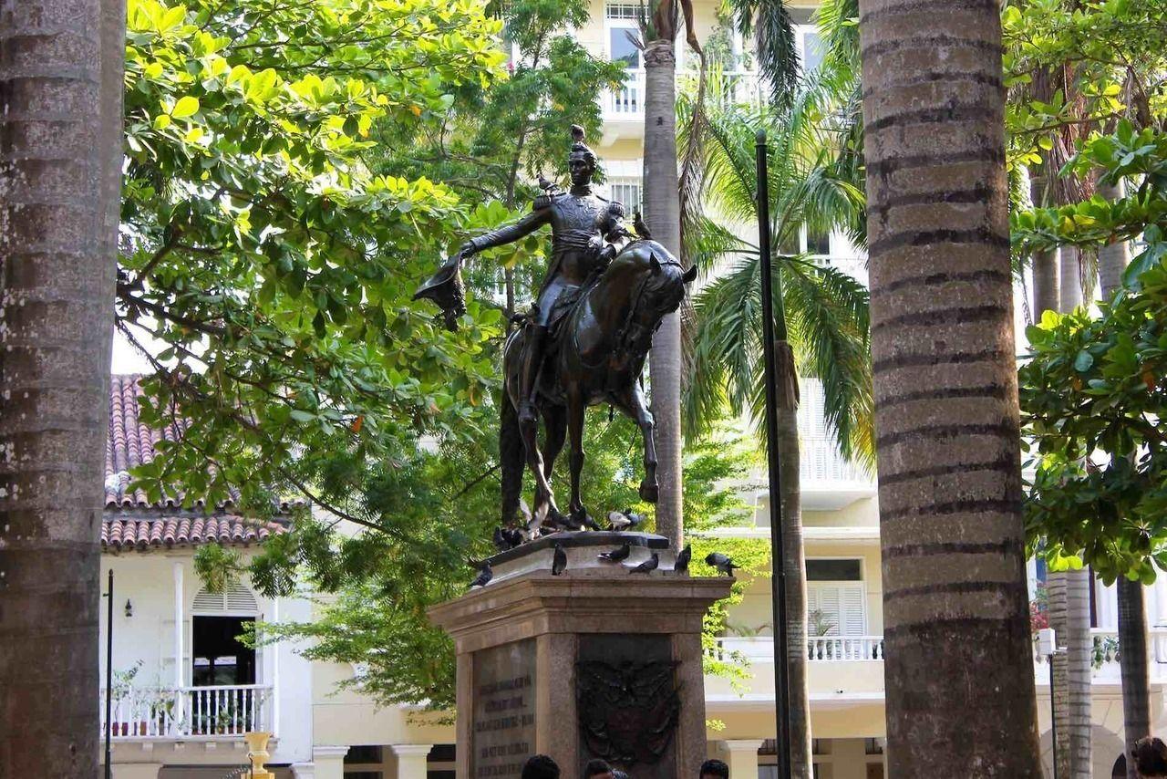 que faire a carthagene, plaza bolivar