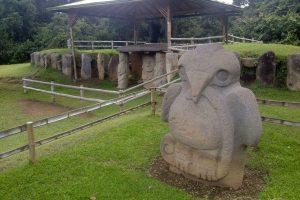 Parc San Agustin en Colombie