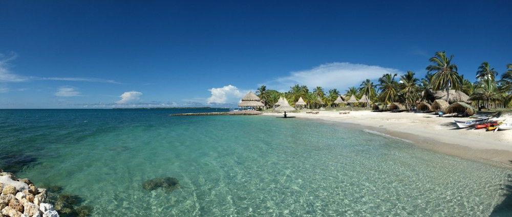 L'hôtel Punta Faro sur l'île Mucura. ©Maria Carvajal